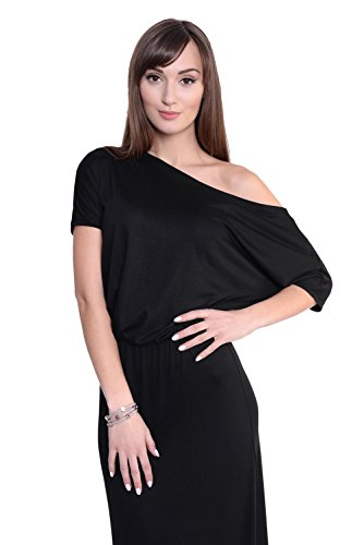 Damen Abendkleid Dress Sommerkleid tailliert Kleid Lang Maxi Kleid ...