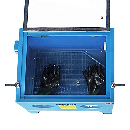 RP Tools SG90L - Máquina de chorro de arena profesional, 90 L, incluye accesorios: Amazon.es: Coche y moto