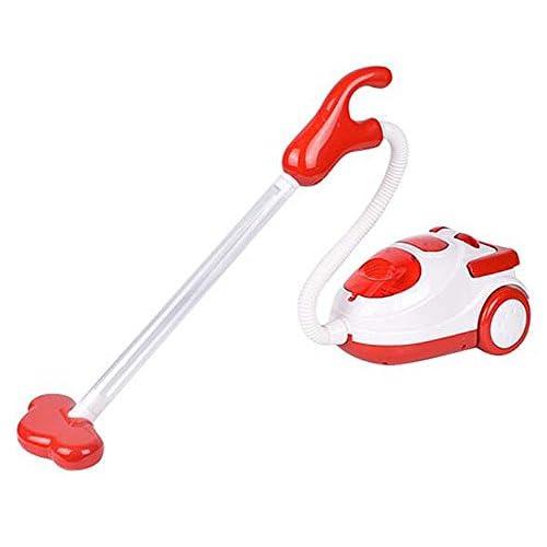 Bel enfant Simulation Aspirateur Mini Simulation Appareils ménagers-Rouge