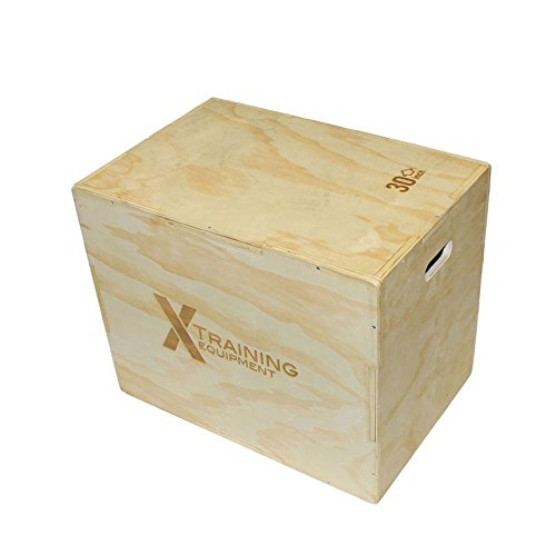 3n1 Premium Plyobox X Training Equipment 20''x24''x30'' Great for Crossfit Plyo Box Workouts by X Training Equipment