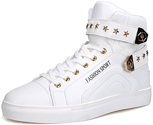 Fashion High Top Sneakers Men White free shipping footaction outlet store cheap price buy online outlet cheap top quality discount visa payment gw9rk7V3