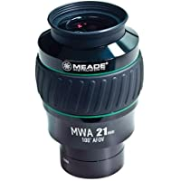 Meade Instruments 607018 Eyepiece, 100 Degree, MWA 21MM, 2-Inch (Black/Green)
