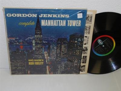 (GORDON JENKINS Complete Manhattan Tower LP Capitol T-766 mono vg+ record album)