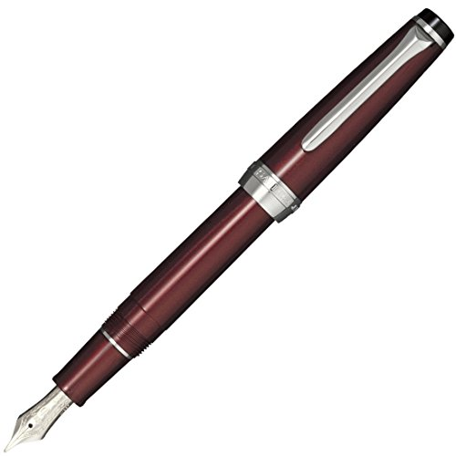 Sailor fountain pen professional gear Slim Hoso-bi sharpening 10-2222-030 polarization Pearl - And Color Polarization