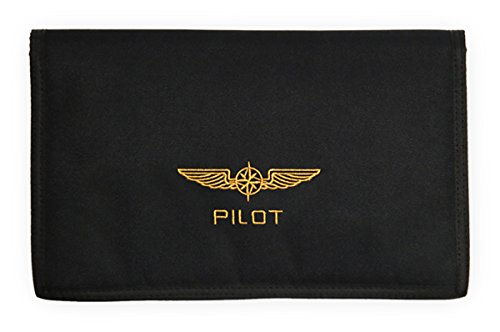 DESIGN 4 PILOTS brand pilot document pouch DOCUBAG, logbook case, aviation document (Best Electronic Pilot Logbook)