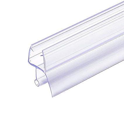 Tonyrena Frameless Shower Door Bottom Sweep With Drip Rail For 12