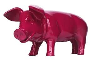 colourliving 'Figura de cerdo Piglet brommel brombeer 60cm decorativo para jardín