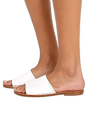 Soludos Women's Slide Sandal White Sandal