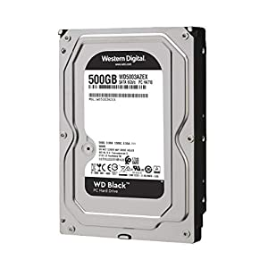 Western Digital 500 GB 3.5-Inch 7200 RPM SATA III 64 MB Cache Desktop Hard Drive WD5003AZEX (Black)