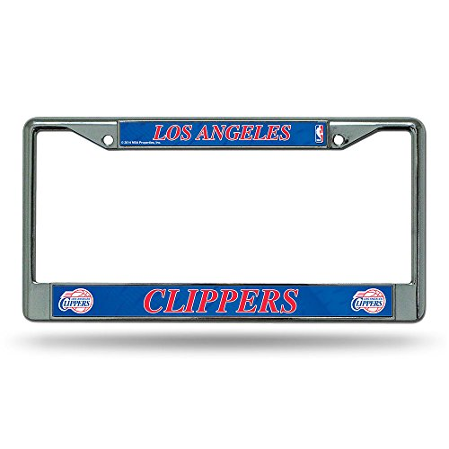 [Rico Los Angeles Clippers Chrome License Plate Frame] (Rico Los Angeles Clippers)