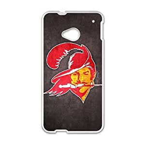 HTC One M7 Phone Case Football NFL Tampa Bay Buccaneers Personalized Cover Cell Phone Cases GHX450678