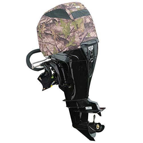 Oceansouth Camouflage Vented Cover for Mercury Fourstroke 40HP, 50HP, 60HP