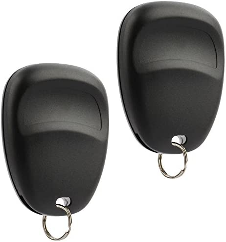 Key Fob Keyless Entry Remote suits 2003-2006 Chevy Tahoe Suburban Silverado Avalanche Equinox SSR/GMC Sierra Yukon/Cadillac Escalade/Hummer H2 / Pontiac Torrent/Saturn Vue (LHJ011), Set of two