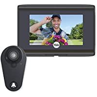 Yale YRV740WI-693 WiFi Digital Door Viewer, Black