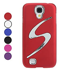 GX Teléfono Móvil Samsung - Cobertor Posterior - Diseño Especial - para Samsung S4 I9500 ( Negro/Blanco/Rojo/Azul/Púrpura/Rosa , Plástico ) , Black