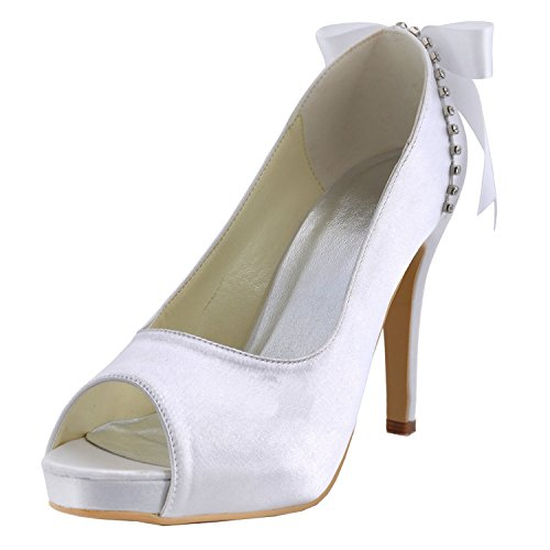 ivory Sandales Minitoo femme pour 10cm Heel qHFwgU