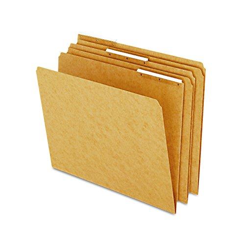 - Pendaflex AC18213 Kraft Angled Plastic Tab File Folders, 1/3 Cut Top Tab, Letter, Brown (Box of 50)