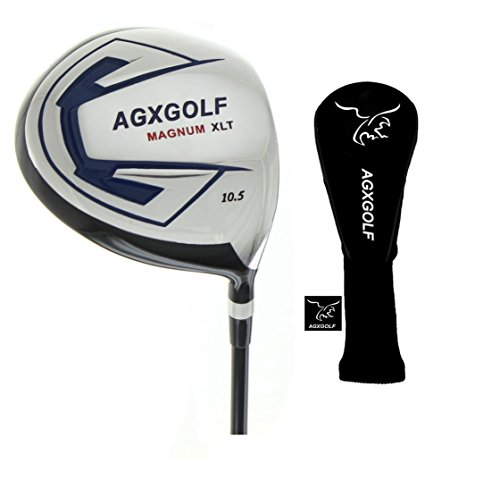 (AGXGOLF Magnum Edition 460cc Driver Forged 7075 Head with Graphite Shaft, Men's Right Hand Regular Length: Built in USA)