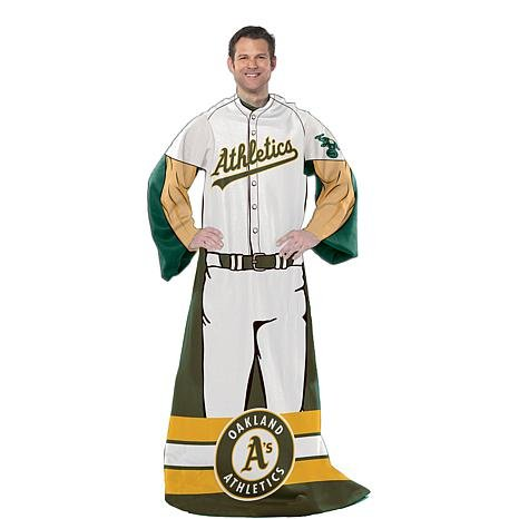 Oakland Athletics Comfy Throw Player Design - Oakland Athletics Design
