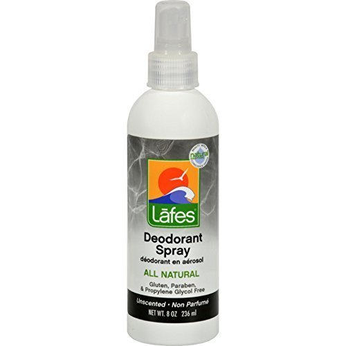 Lafe'S Natural Body Care Deod Spray W/Aloe Vera 8 Fz