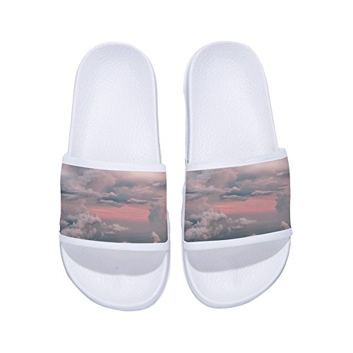 White Non Cloud for Buteri Pink Slippers Slippers Drying and Sky Slip Summer Womens Cloud Quick 6nR4wf