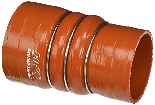 HPS CAC-300-350-HOT Silicone High Temperature 4-ply Aramid Reinforced Charge Air Cooler CAC Hose Hot Side, 100 PSI Maximum Pressure, 6