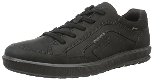 Ecco Herren Ennio Low-Top, Schwarz (2001black)