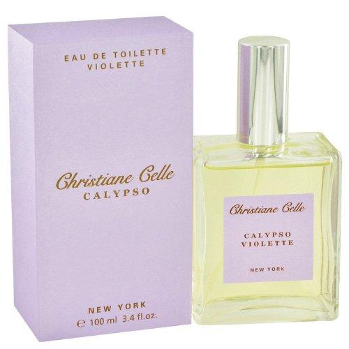 Calypso Violette By Calypso Christiane Celle   Eau De Toilette Spray 3 4 Oz
