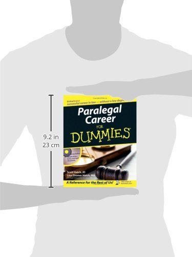 Paralegal Career For Dummies New Free Shipping 471799564 border=