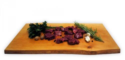 Rehgulasch aus dem Blatt Gewicht 1,00kg: Amazon.de: Lebensmittel ...