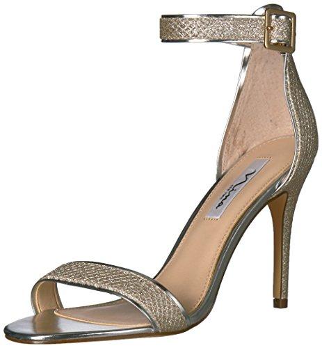 Sandale Robe Caela De Platino Douce Des Femmes Nina