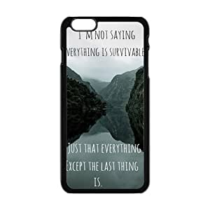 Cool Painting john green book quotes Phone Case for Iphone 6 Plus