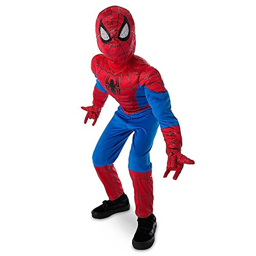 [DISNEY STORE MARVEL ULTIMATE SPIDER-MAN LIGHT-UP COSTUME ~ 2016 (9/10)] (2016 Halloween Costumes For Boys)
