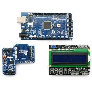 SainSmart MEGA ATmega2560 – Teclado LCD Shield + SainSmart XBee Shield para Arduino UNO MEGA R3