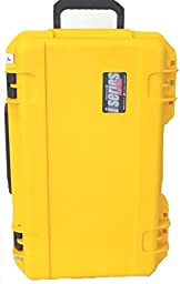SKB 3i-2011-8Y-E. SKB yellow case, empty, no foam. NO WHEELS