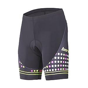 Beroy Cycling Women's Shorts,3D Gel Padded Bike Shorts Women with REFLECTIVE PATTERN (x-large)