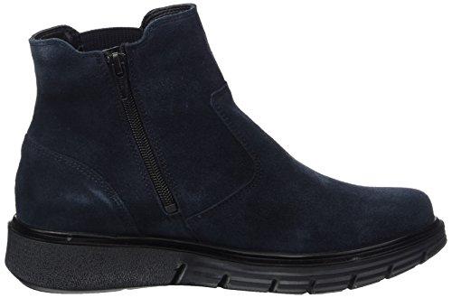 Waldläufer Damen Hydeia Chelsea Boots, Blau (Velour Deepblue), 38 EU