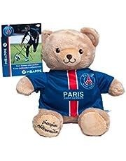 Pluche dier PSG Kylian MBAPPE - PSG beer - officieel pluche dier Paris Saint Germain - mascotte 20 cm