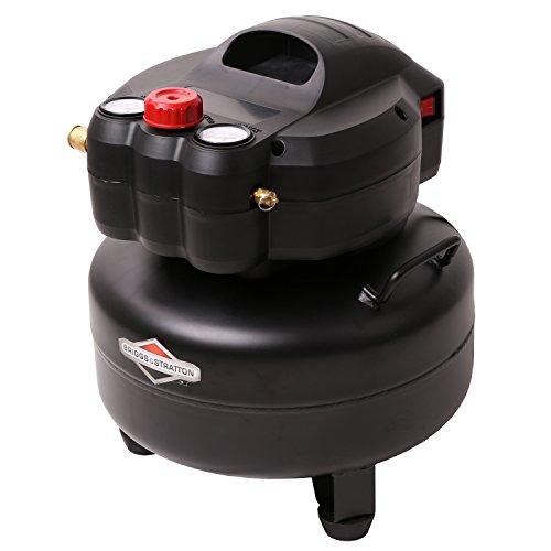 Briggs & Stratton 6-Gallon Air Compressor, Pancake 074019-00