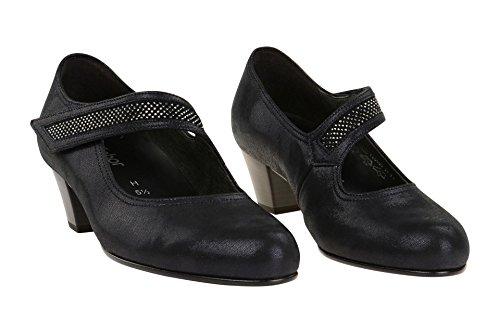 Gabor 76.147.36 - Zapatos de vestir de Piel Lisa para mujer 36 azul oscuro