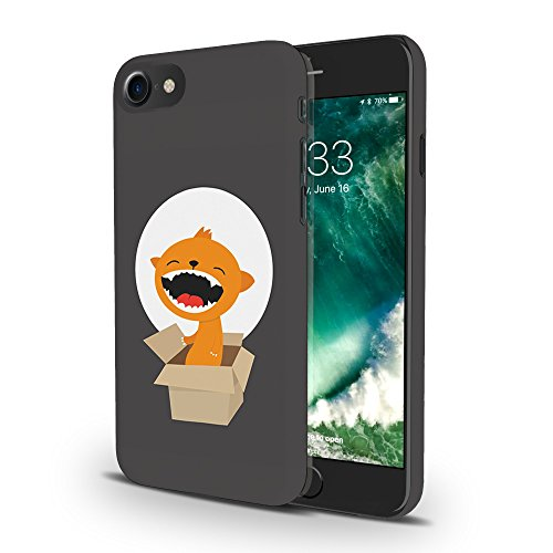 Koveru Back Cover Case for Apple iPhone 7 - Cub in a box on a full moon day