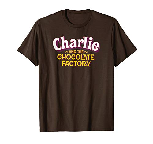 Charlie and the Chocolate Factory Logo T Shirt
