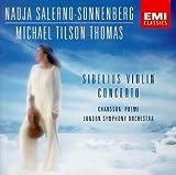 Sibelius: Violin Concerto; Chausson: Poeme for Violin & Orchestra; Nadja Salerno-Sonnenberg by Nadja Salerno-Sonnenberg