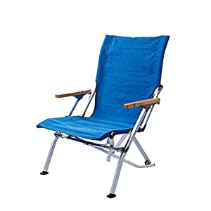 Amazon.com: Silla plegable para exteriores, silla de playa ...