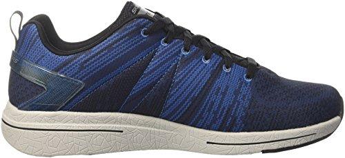 Skechers Burst 2.0-In the Mix Ii, Zapatillas para Hombre Azul (BKBL)