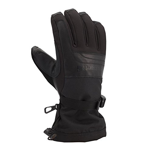 - Carhartt Men's Cold Snap Insulated Work Glove, Black, Large