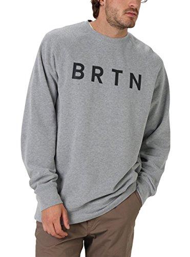 Brtn Crew Hombre Burton Gris Sudadera BHwzOHS