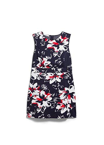 Mango Women's Printed Retro Dress, Dark Navy, 4