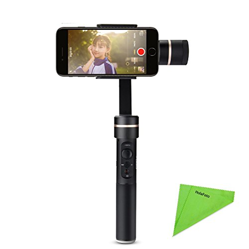 FeiyuTech Feiyu SPG C 3-Axis Stabilized Stabilizer Handheld Gimbal Focus Face Tracking Panorama Time-lapse Vertical & Horizontal Shooting for iPhone LG Samsung Galaxy Moto Smartphones Width 50mm-80mm by FeiyuTech