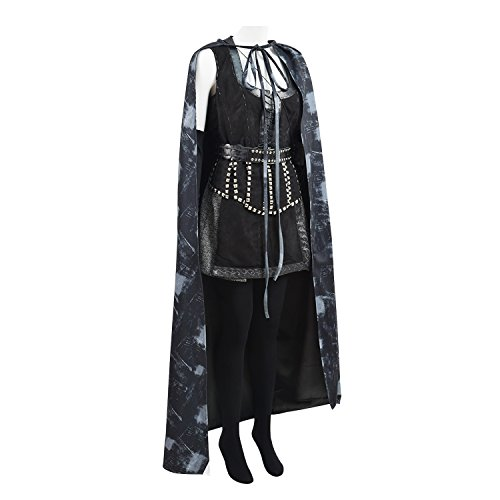 TISEA Mens Womens Hot US TV Series Costume for Halloween and Cosplay Party (M, Regina Mills)